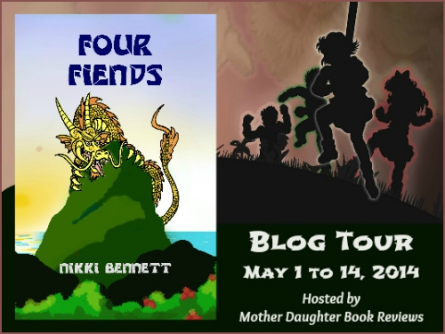 Book Review and Blog Tour: Four Fiends by Nikki Bennett