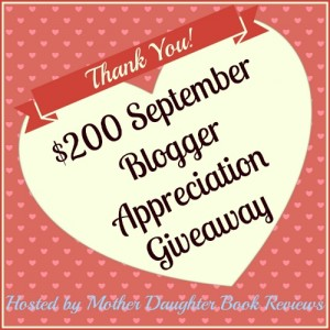 September Blogger Appreciation Giveaway