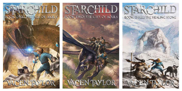 Book Blast: Starchild series by Vacen Taylor