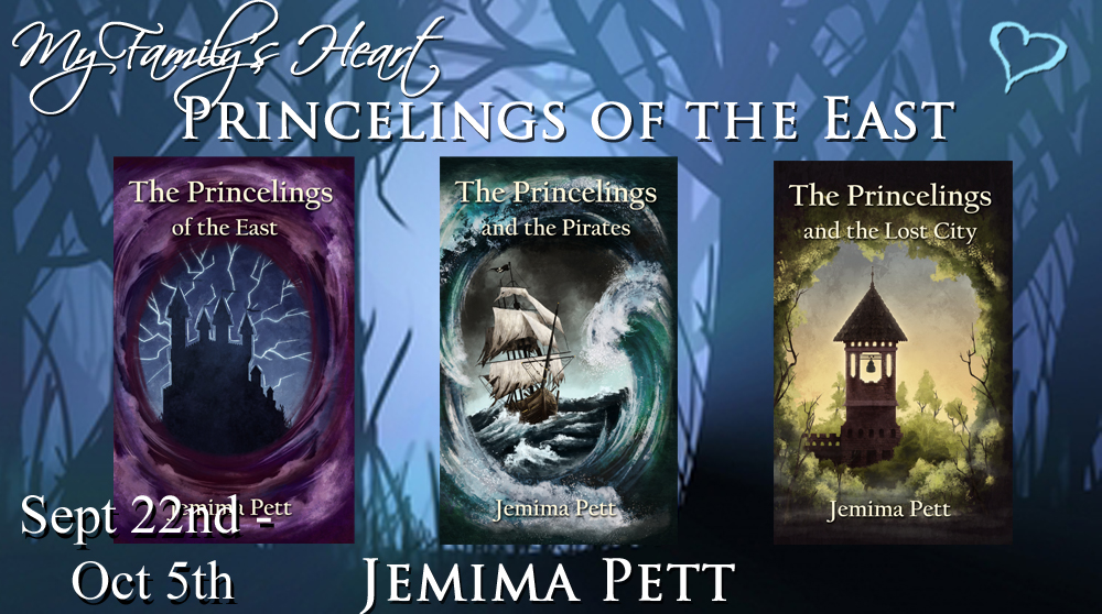 Starts today – my Princelings of the East Blog Tour with My Family's Heart