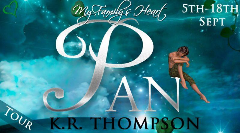 Blog Tour   Pan by K R Thompson