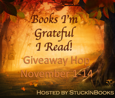 Books I'm Grateful I've Read Giveaway Hop
