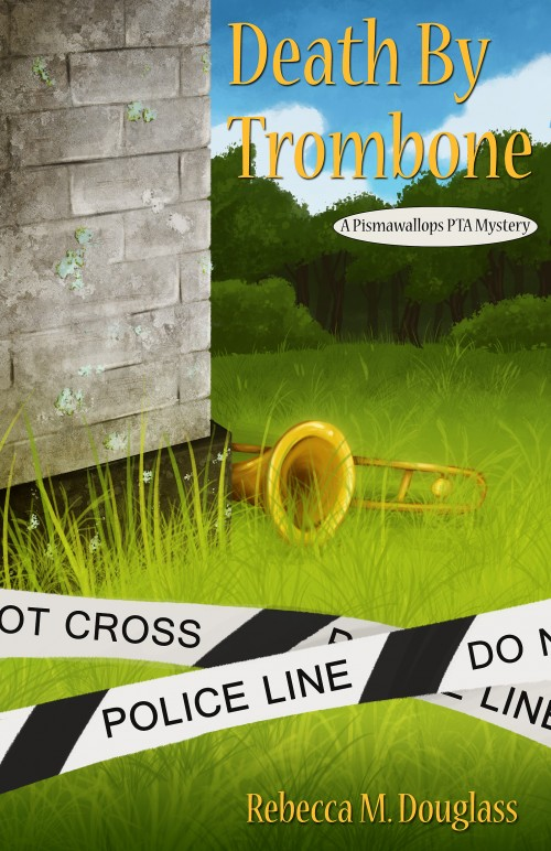 Cover Reveal and special offer | Death by Trombone by Rebecca M Douglass