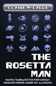 Book Review   The Rosetta Man … and Cover Wars!