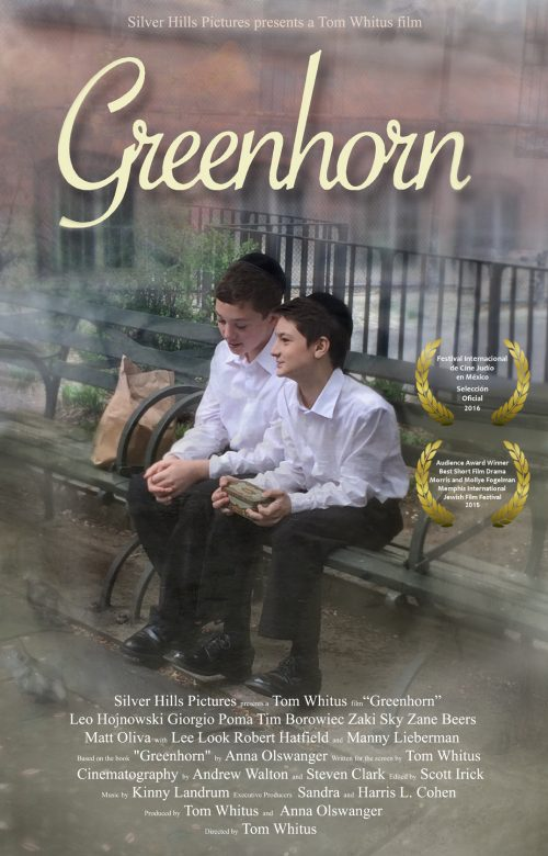 Update on Greenhorn – book and movie