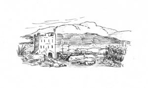 illustrations castle craig
