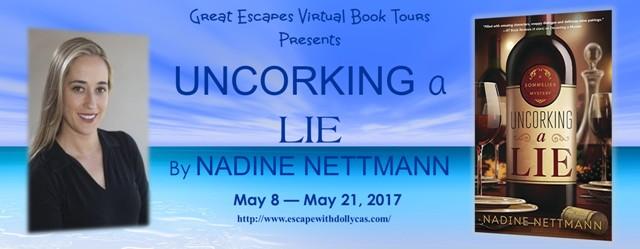 uncorking a lie tour banner