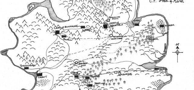 mapping the realms south