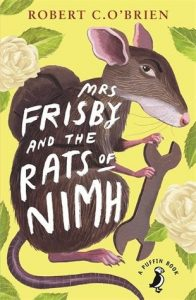 book cover for Mrs Frisby and the Rats of NIMH by Robert C O'Brien