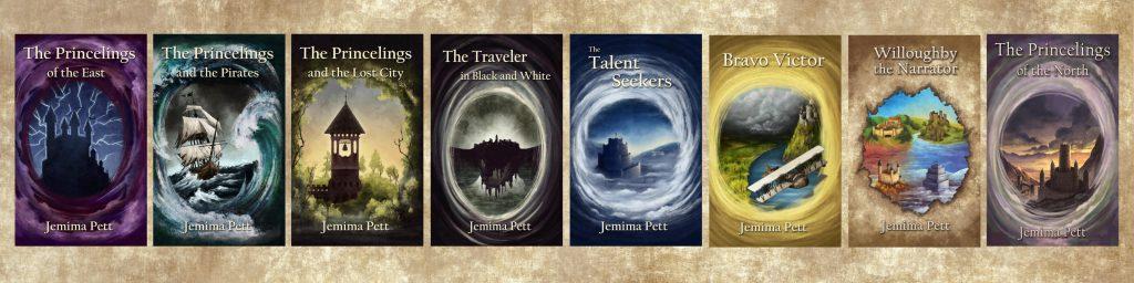 princelings series covers