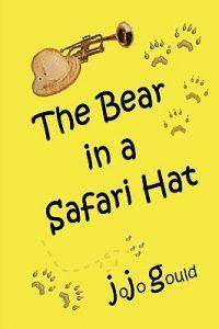 Bear in safari hat