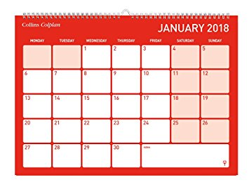 Collins Colplan Calendar January