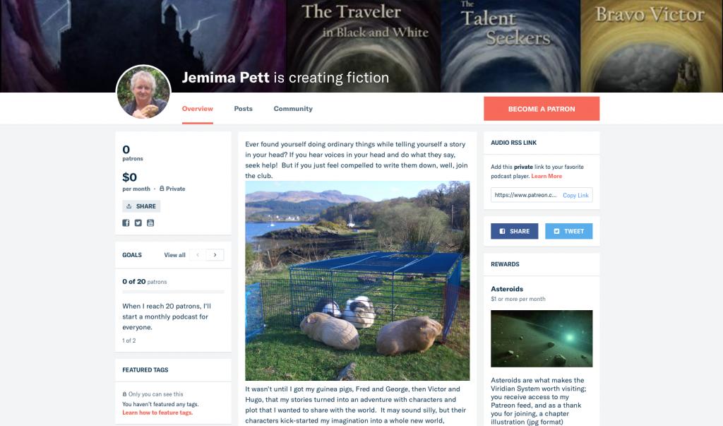 jemima's patreon page