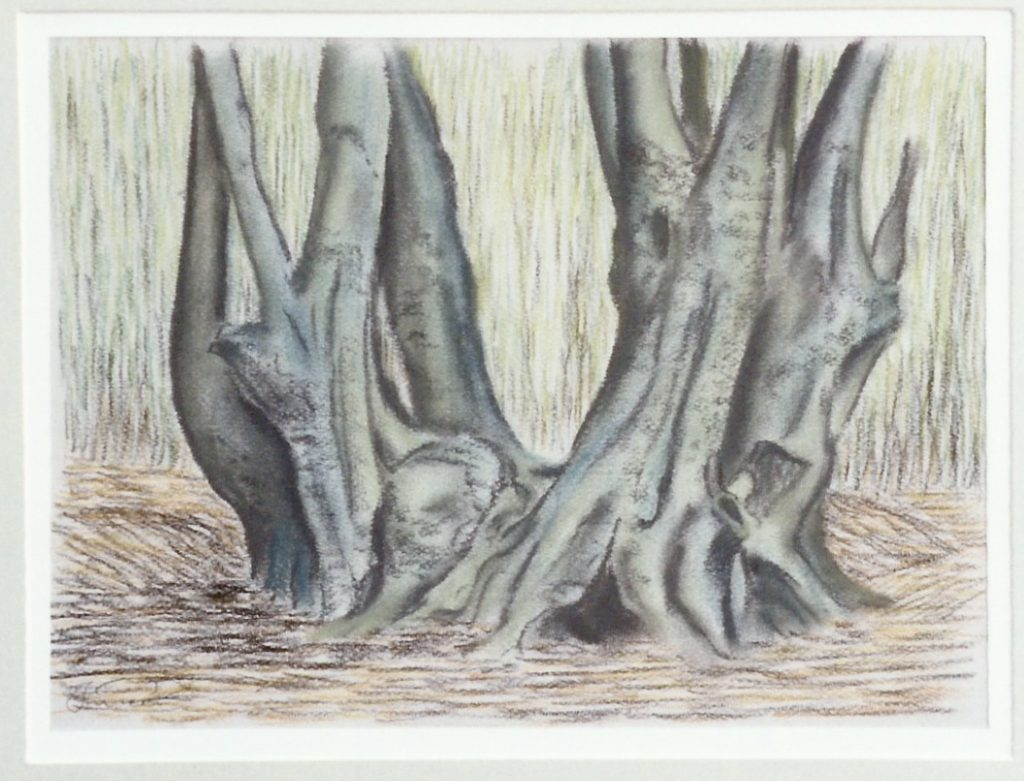 epping forest tree painting