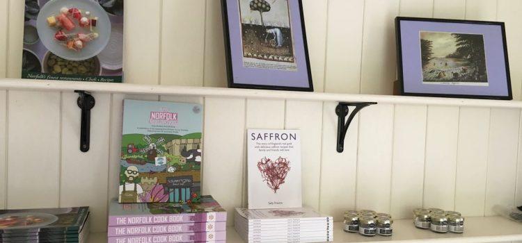 norfolk saffron display