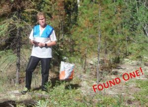 Julie orienteering challenge for aphasia