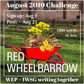 Why I'm not writing about a Red Wheelbarrow