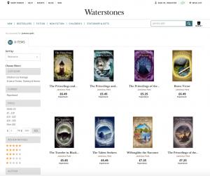 Waterstones Princelings series