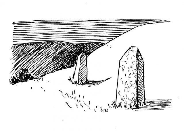 standing stones Humphrey
