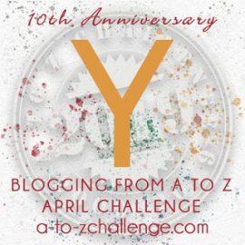 Yard or Yule? Flashback to #AtoZChallenge 2012
