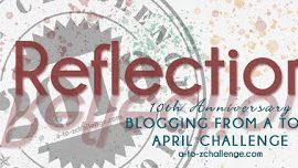 Reflections on the #AtoZChallenge2019