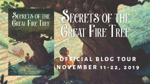 Secrets of the great fire tree tour badge