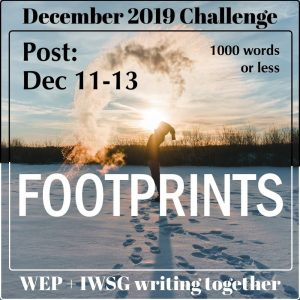 footprints WEP+IWSG