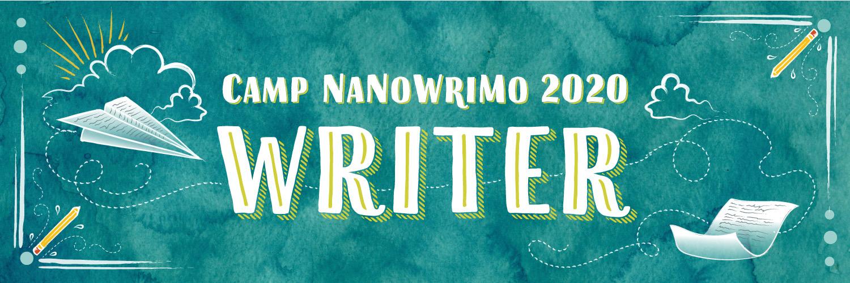 Camp Nano 2020 banner