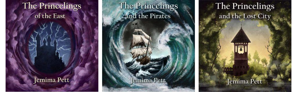 triple banner Princelings audiobooks