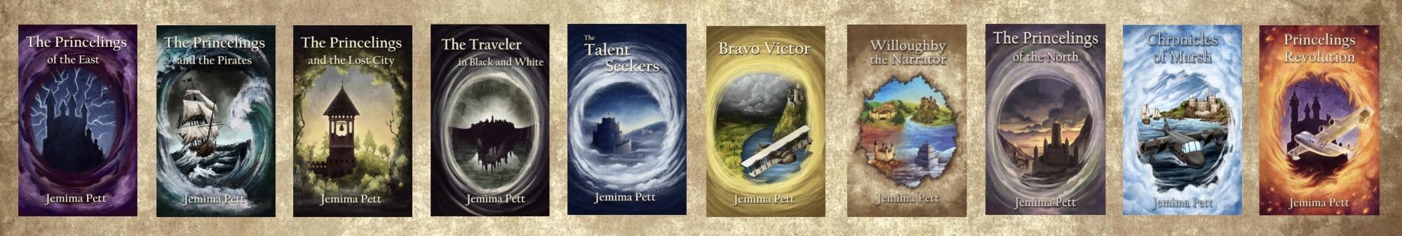 10 Princelings book covers