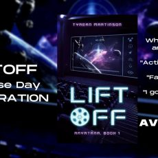 Book Release   Liftoff by Tyrean Martinson