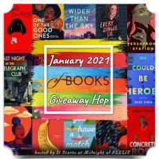 January 2021 of Books Giveaway Hop ends 31st Jan #giveawayhop