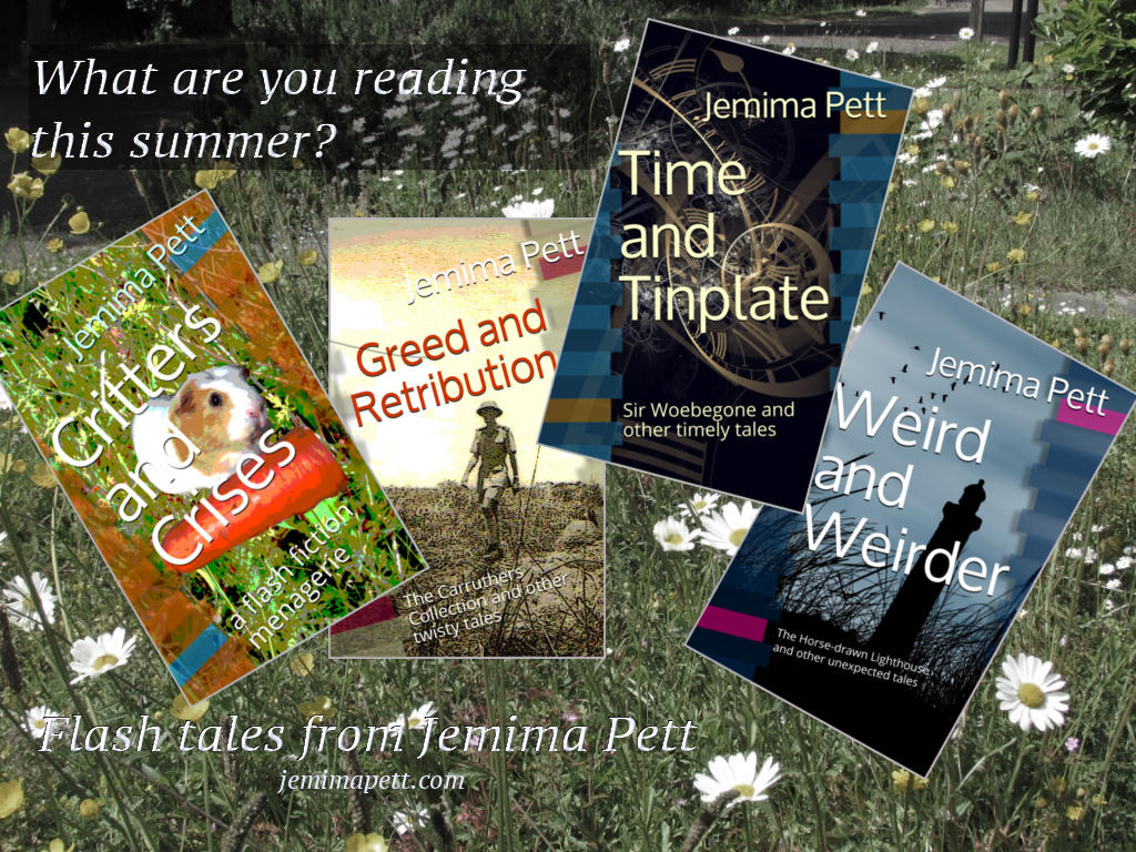 critters, greed, time and tinplate, weird