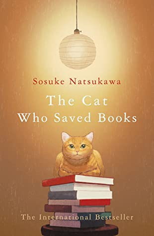 cat who saved books