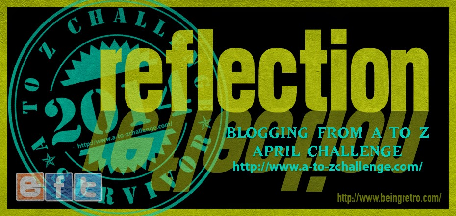 Reflections on the A to Z Challenge 2014