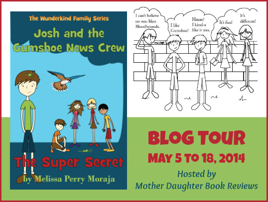 Book Review & Blog Tour: Josh and the Gumshoe News Crew by Melissa Perry Moraja