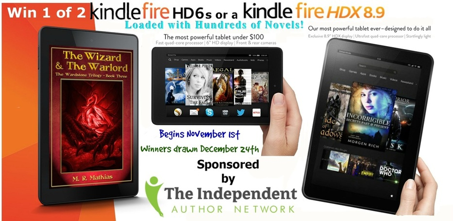 Another Two Kindle Fires to Giveaway #IAN