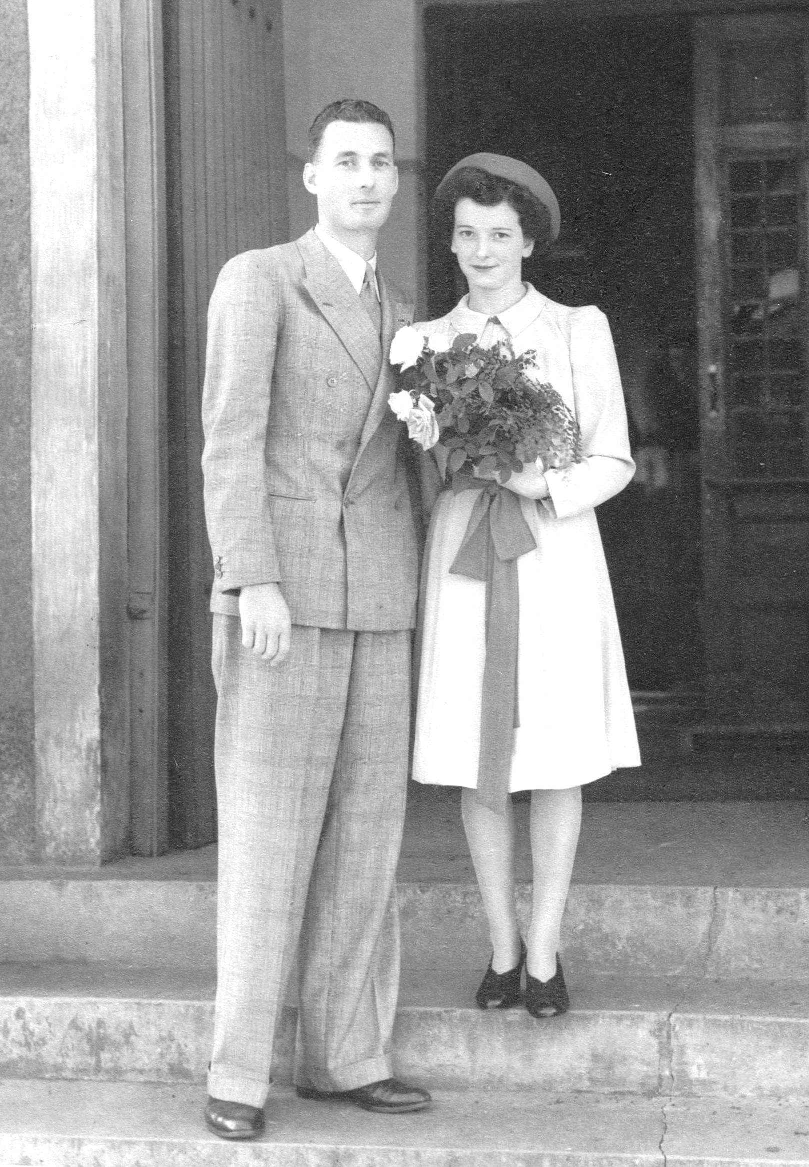 Geoffrey and frances April 1943