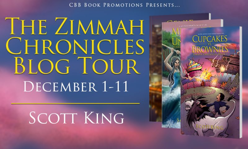Blog Tour & Book Review: Cupcakes vs. Brownies: Zimmah Chronicles by Scott King