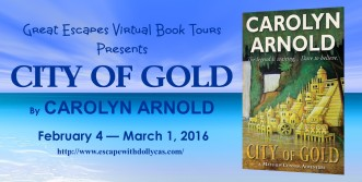 Book Review | City of Gold by Carolyn Arnold