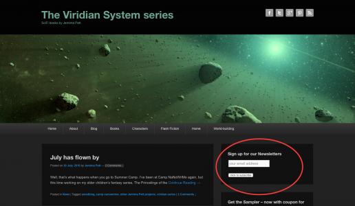 Rebuilding my Viridian Series follower  list