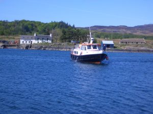 Ulva Ferry with Hoy Lass