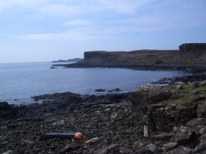basalt cliffs of Ulva