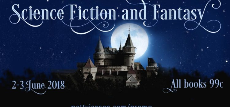 sciFi fantasy books for 99c June