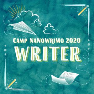 Camp Nanowrimo 2020 badge