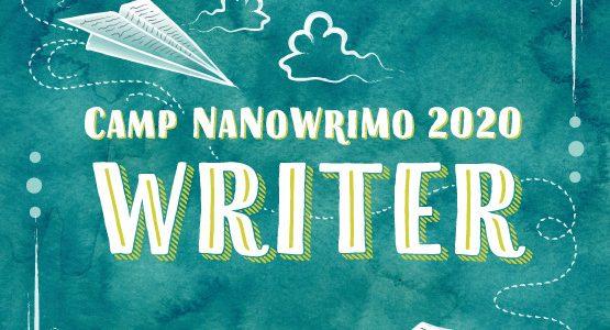 Camp nano 2020 badge