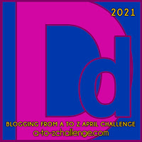 D for Dylan, Deirdre and Dougall #AtoZChallenge2021